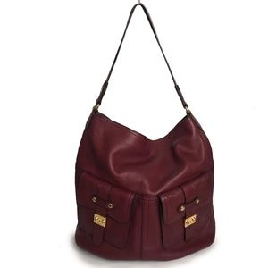 Ralph Lauren Leather Hobo Bag XL Pocket Bag